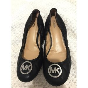 Michael Kors Quilted foldable Ballet Flats